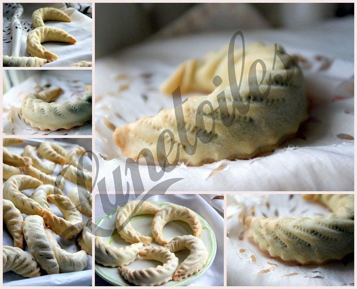 gateau algerien cornes de Gazelle aux noisettes 3