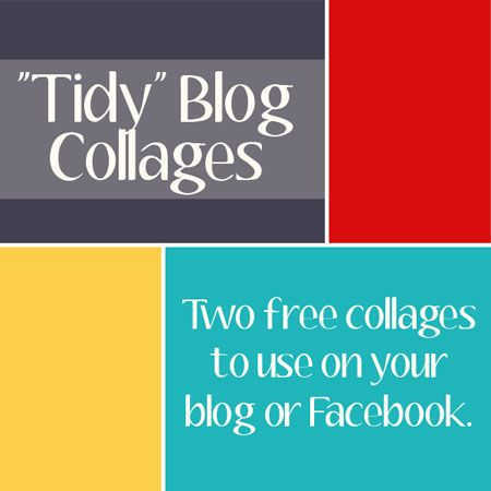 Free Blog/Picture Collage Template - from @Cheryl Tidymom & @Amanda Padgett