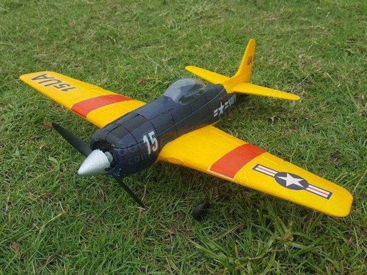 F6F 2.4G 4CH 6-Axis Gyro Easy Flying Trainer  EPO Warbird RC Airplane RTF