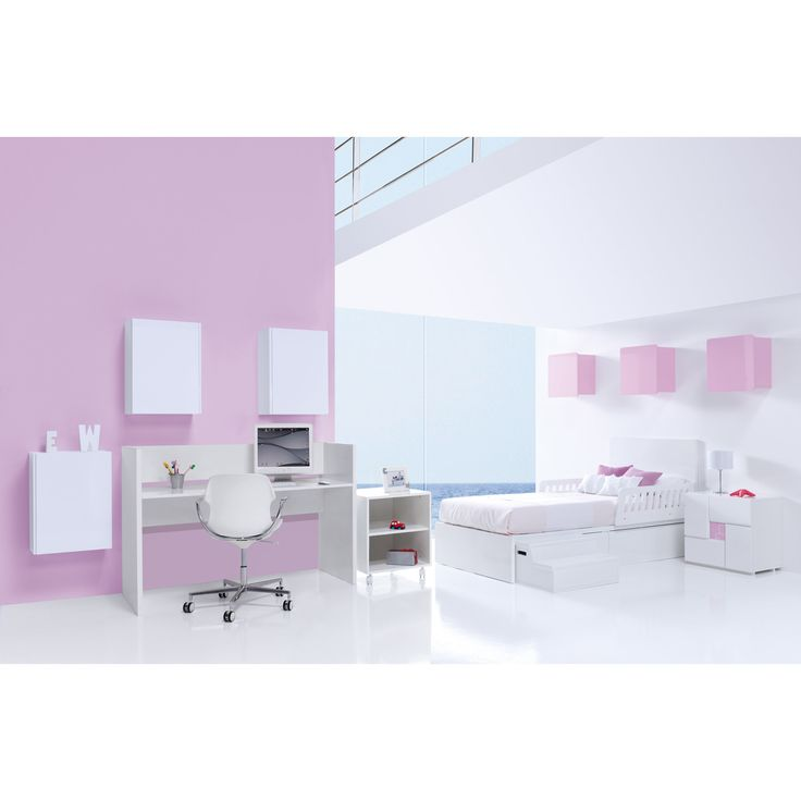 Converted from a cot bed to a junior bedroom! Without having to purchase any additional parts! So practical & unique! http://www.casabebe.co.uk/clip-pink/