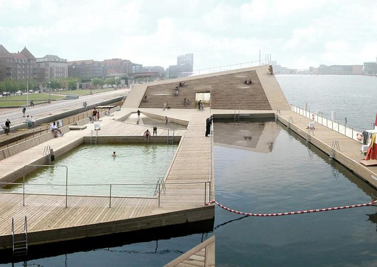 BIG designs a winter bath in Copenhagen