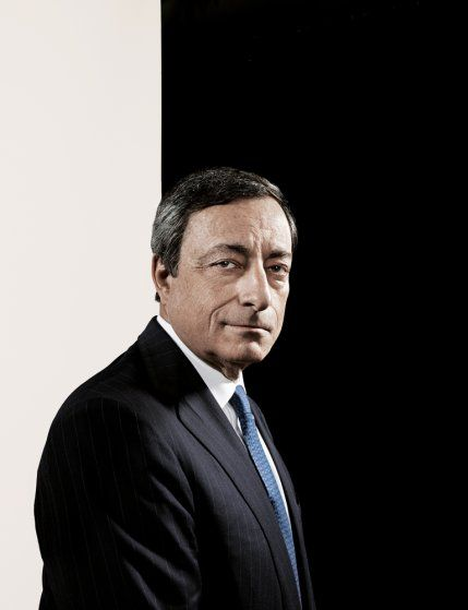 """Mario Draghi. From """"The 100 Most Influential People in the World,"""" April 29, 2013 issue."""