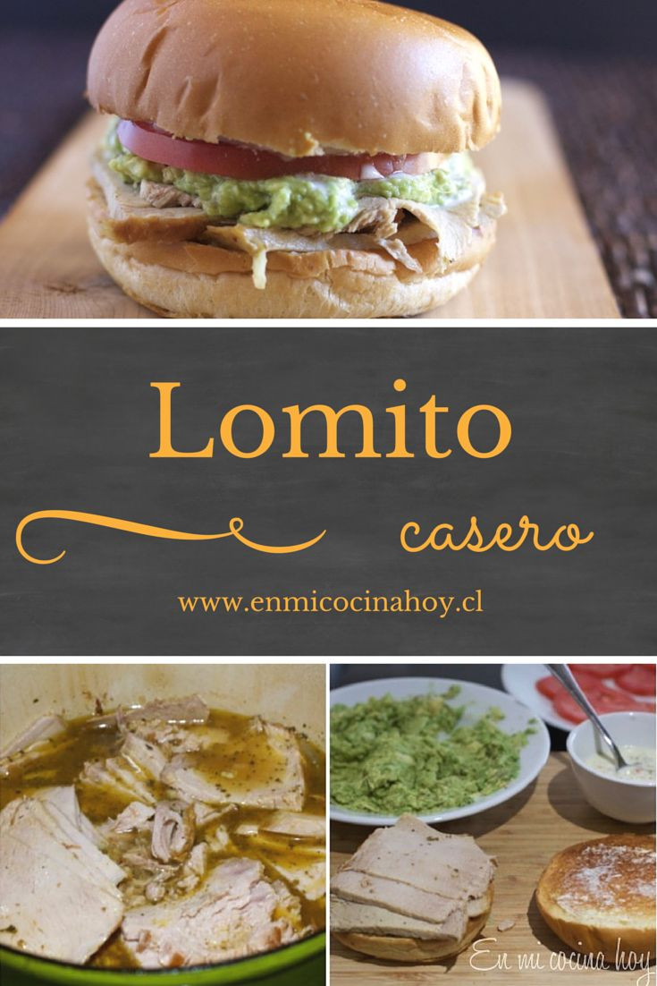 65 best recetas de sandwichs images on pinterest aerobic exercises lomito casero sandwich chileno chilean recipeschilean foodel forumfinder Gallery