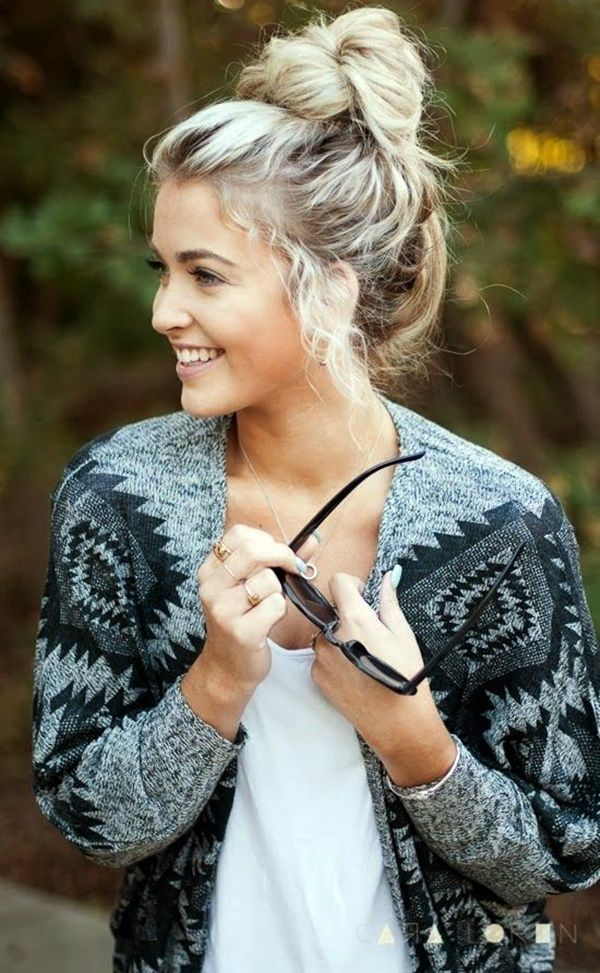 Awe Inspiring 1000 Ideas About Winter Hairstyles On Pinterest Bobby Pin Hairstyles For Women Draintrainus