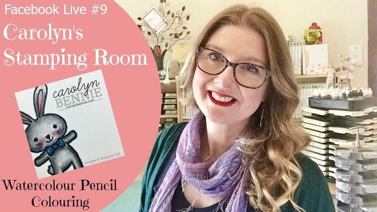 Like to know how to colour with your Stampin' Up! Watercolor Pencils? I have lots of tips and techniques on my latest Facebook Live Video Tutorial. carolynbennie.com