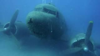 Flugzeugwrack DC 3 - Kas - Türkei, via YouTube.