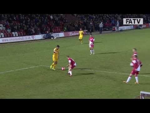 FOOTBALL -  Kidderminster Harriers vs Newport County AFC 4 - 2, FA Cup Second Round Proper 2013-14 highlights - http://lefootball.fr/kidderminster-harriers-vs-newport-county-afc-4-2-fa-cup-second-round-proper-2013-14-highlights/