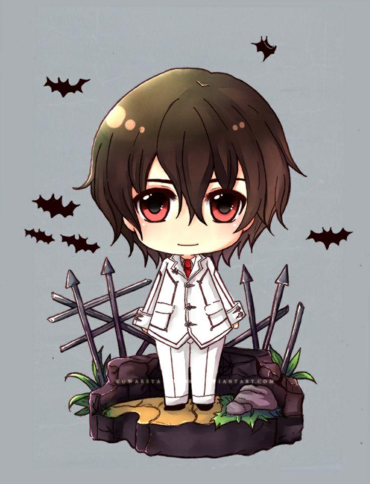 Kuran Kaname chibi -- Vampire Knight <<< GAAHH!!! CHIBI KANAME!! He's. Too. CUUUUTE!!! ♡♡♡