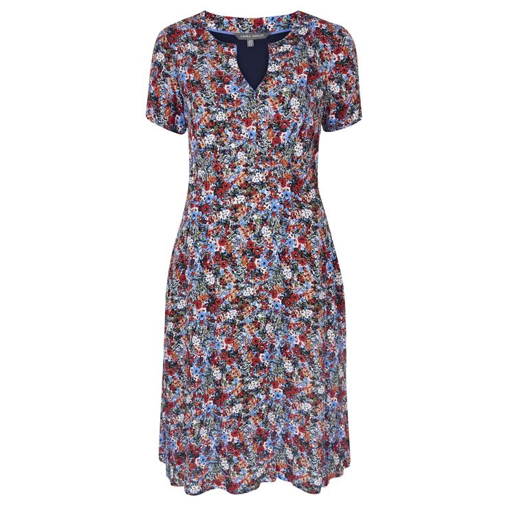 Laura Ashley Floral Meadow Tea Dress #FloralBurst