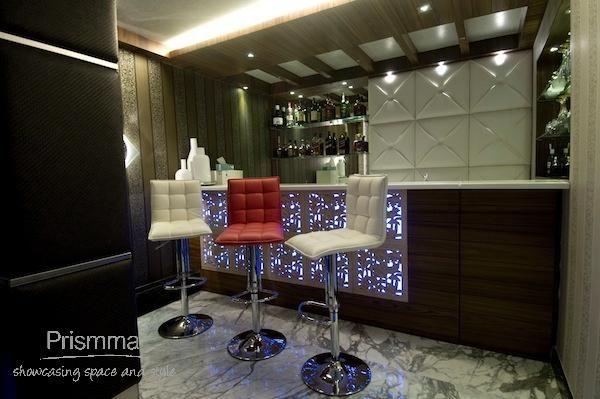 Interiordesign Portable Bar, Home Bar Design, Bar Stools, Ceiling .