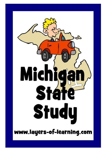 Start Learning About Michigan With Our Michigan State Study Brief History Facts A