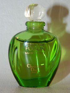 DIOR Tendre Poison Perfume MINI .17 Oz Eau de Toilette EDT Rare HTF Vintage 90%