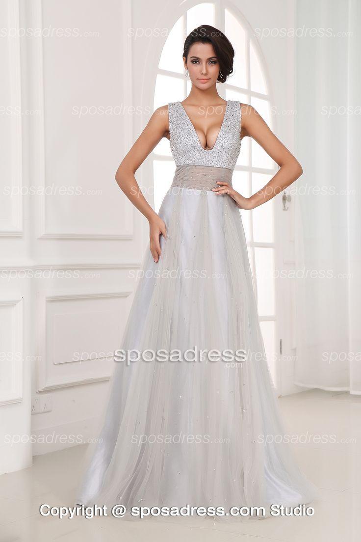 Trending silver wedding dresses