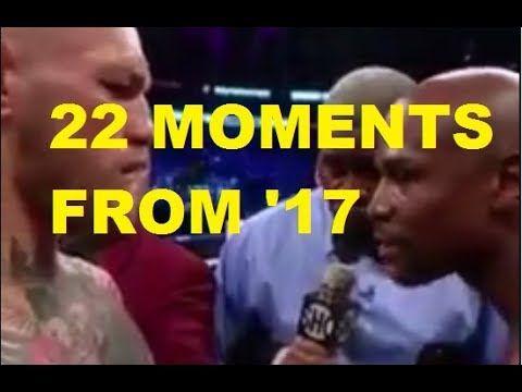 MMA 22 amusing moments from 2017 (Mixed Martial Arts)