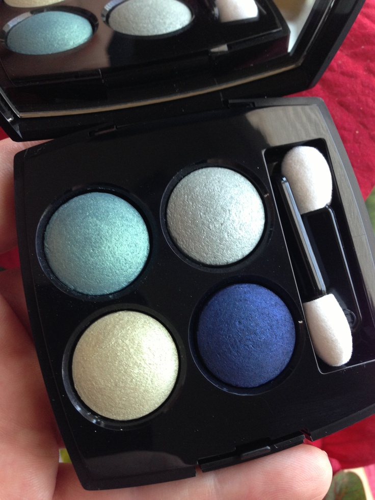 """Chanel Les 4 Ombres """"Métamorphose"""", l'Été Papillon Summer 2013 (chanel.com exclusive) #makeup #chanelbeauty"""
