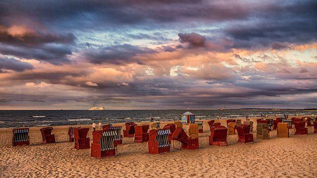 Plaża krzesła Świnoujście | Flickr