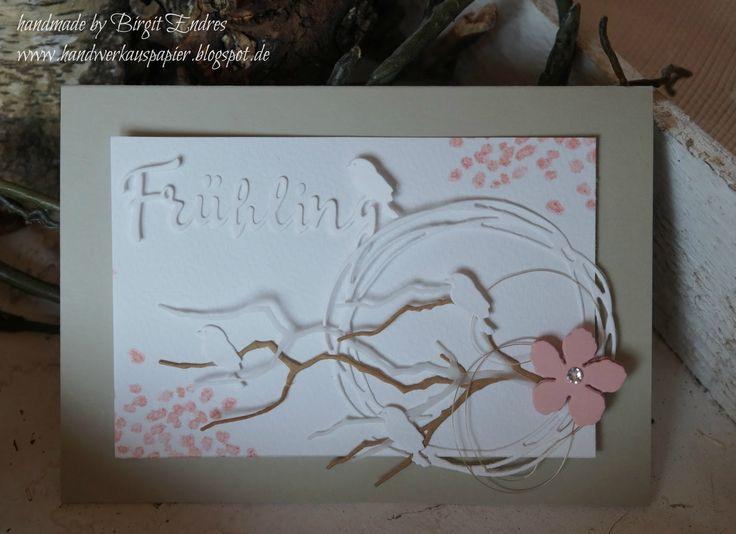 HandWerk aus Papier: Frühling x 2