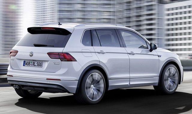 2016 VW Tiguan - back view