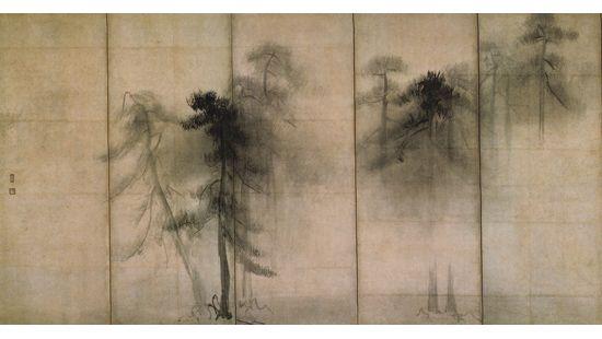 余白の意味を探る「松林図屏風」長谷川等伯 | tamalog
