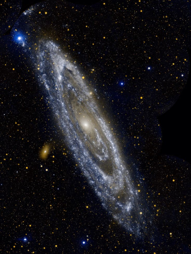 The Andromeda Galaxy A mere 2.5 million light-years away, the Andromeda Galaxy really is just next door as large galaxies go. So close, and spanning some 260,000 light-years, it took 11 different...