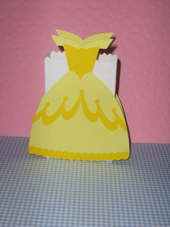 Princess Belle CinderellaSnow White by ThePaperdollPrincess, $15.00