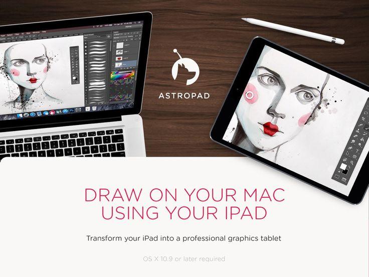 Astropad Graphics Tablet é como uma mesa digitalizadora em seu iGadget
