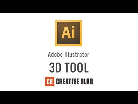 How to use the 3D tool in Illustrator