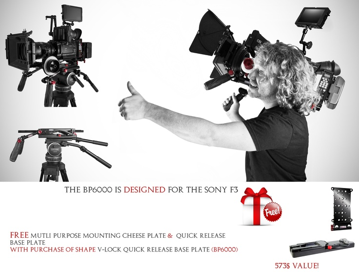 #F3 users: we have an amazing offer for you! #sonyf3 #sony #camera #cinema #rig #gear #shouldermount @Sony Professional
