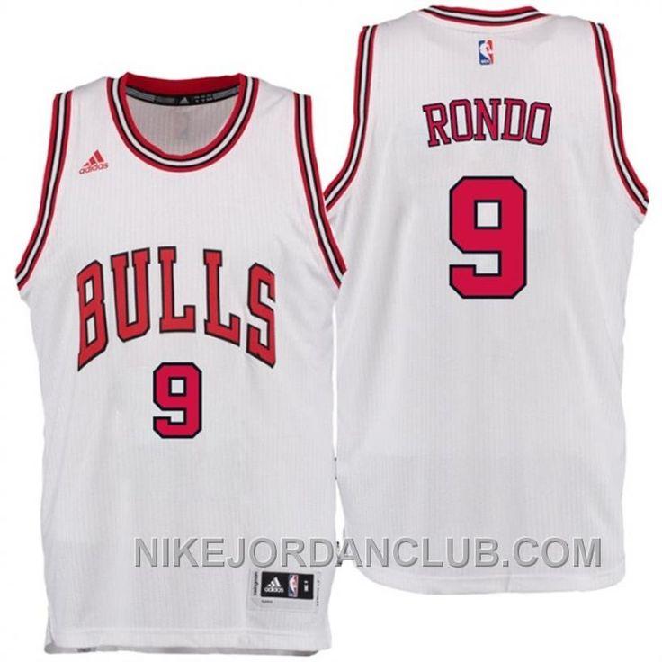 ... NBA Chicago Bulls 9 Rajon Rondo New Revolution 30 Swingman White Jersey  httpwww.nikejordanclub.comrajon-rondo-chicago- ... 26e188174