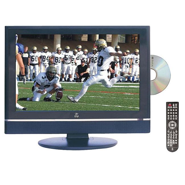 Pyle RBPTC20LD 19-inch HD TV with Built-in DVD Player