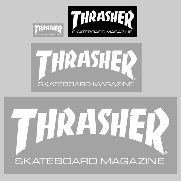 Thrasher Magazine | Store Logo Sticker (small) $0.50 | Ro ...