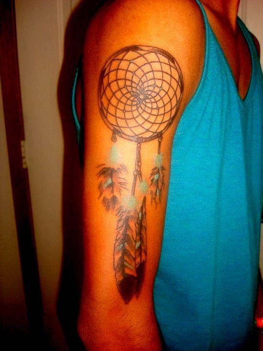 love the color accents.: Tattoo Ideas, Black Heart Tattoos, Color Dreams Catcher Tattoo, Dream Catchers, Love Dreamcatchers Tattoo, Dream Catcher Tat, Tattoo Piercing, Body Art, Dreamcatcher Tattoos