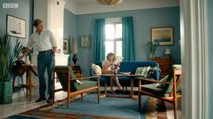 Swedish house interior used in Crimes of Passion.  Love it