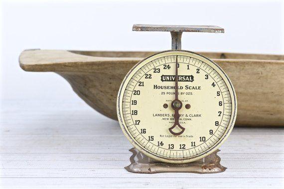 Vintage Kitchen Scale Antique Scales Farmhouse Decor Rustic