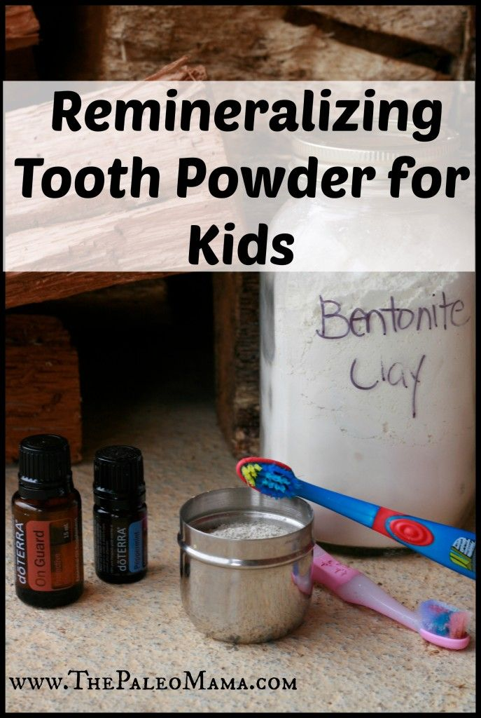 DIY Remineralizing Tooth Powder for Kids | www.thepaleomama.com