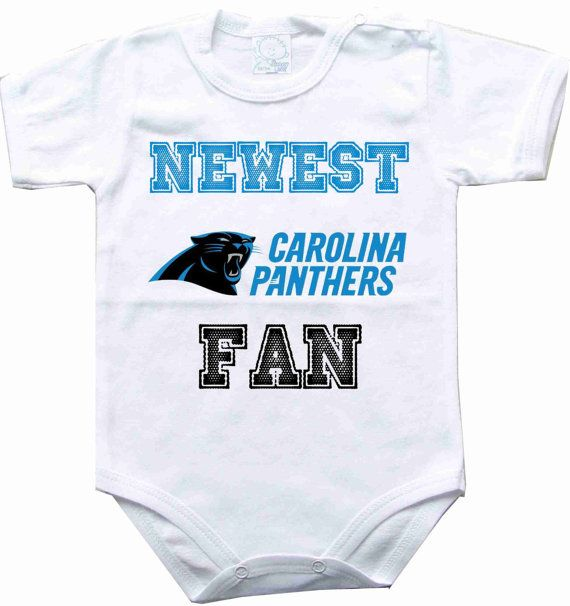 84e53df25 Baby bodysuit Newest fan Carolina Panthers football NFL One Piece Bodysuit  Funny Baby Child boy girlens