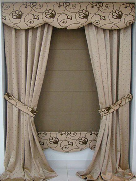 17 mejores ideas sobre modelos de cortinas en pinterest for Cortinas de tela modernas