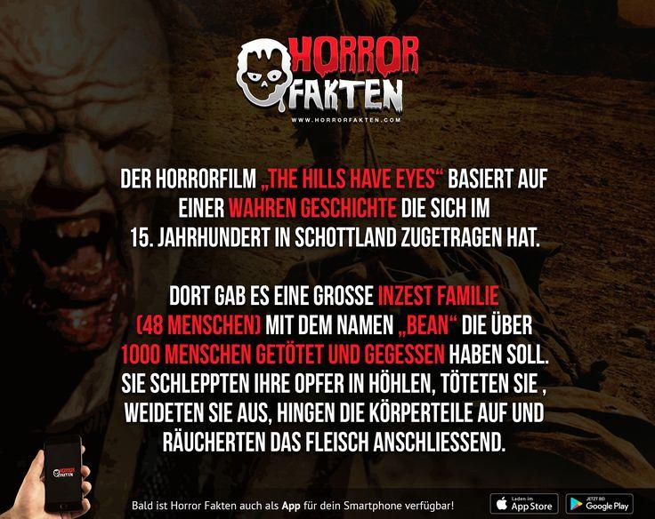The hills have eyes - Eine wahre Geschichte   #Bean #Familie #Inzest #horrorfakten #horrorfilmfakten