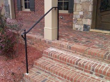Exterior Wrought Iron Handrail / Railing Mediterranean Porch