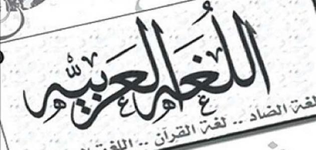 مقال عن اهمية اللغة العربية الفائدة ويب Arabic Calligraphy Blog Posts Novelty Sign
