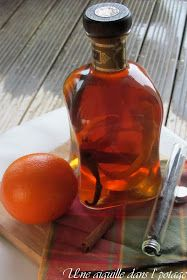 Rhum arrangé orange-cannelle