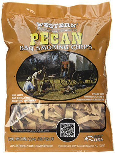WESTERN BBQ Smoking Chips are primarily used to add wood smoke flavor to food cooked on gas and charcoal grills or electric smokers. Pecan is similar to Hickory but with a tangy and sweet yet bold flavor. It can also be used to flavor seafood and vegetabl http://grillingideas.org/best-smoker-grills/