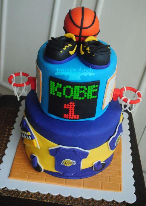 Kobe Bryant inspired cake | Boogie Wonderland