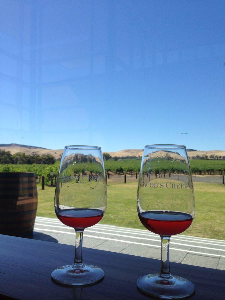 Jacobs creek winery ,South Australia.
