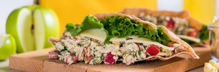 Recipes | Tuna Sandwich with a Twist | SAPUTO Cheeses from Canada