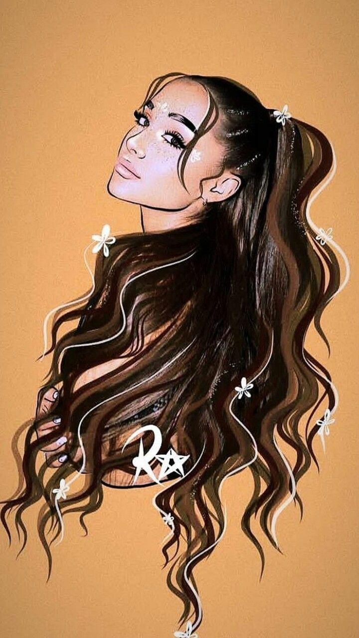 Ariana Grande Fofura Em 2020 Desenhos De Tumblr Desenho
