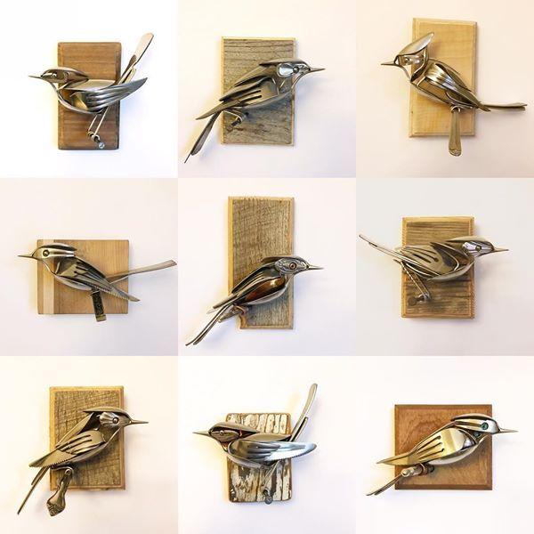 25 unique cutlery art ideas on pinterest spoon art metal art and silverware art. Black Bedroom Furniture Sets. Home Design Ideas