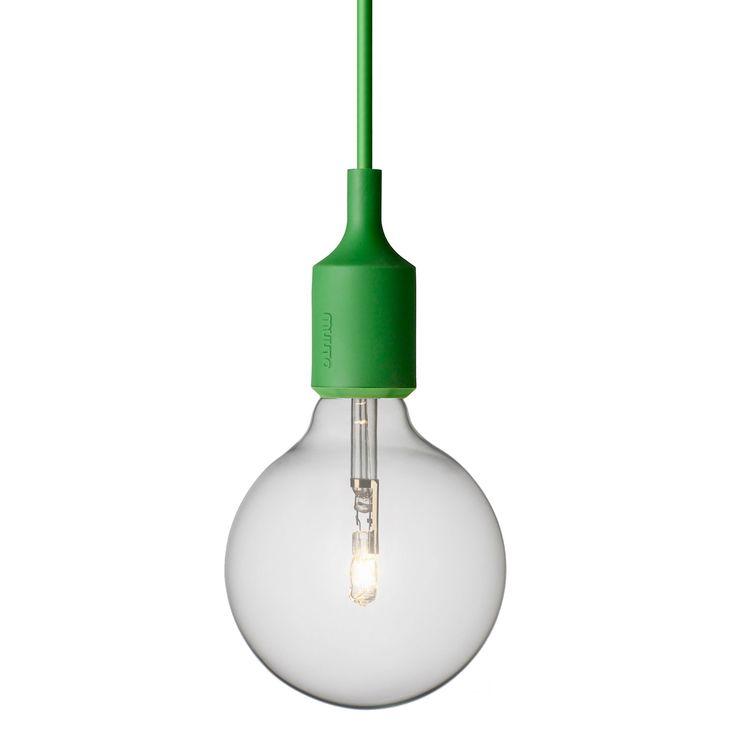 E27 lampa, grön i gruppen Belysning / Lampor / Taklampor hos RUM21.se (101159)