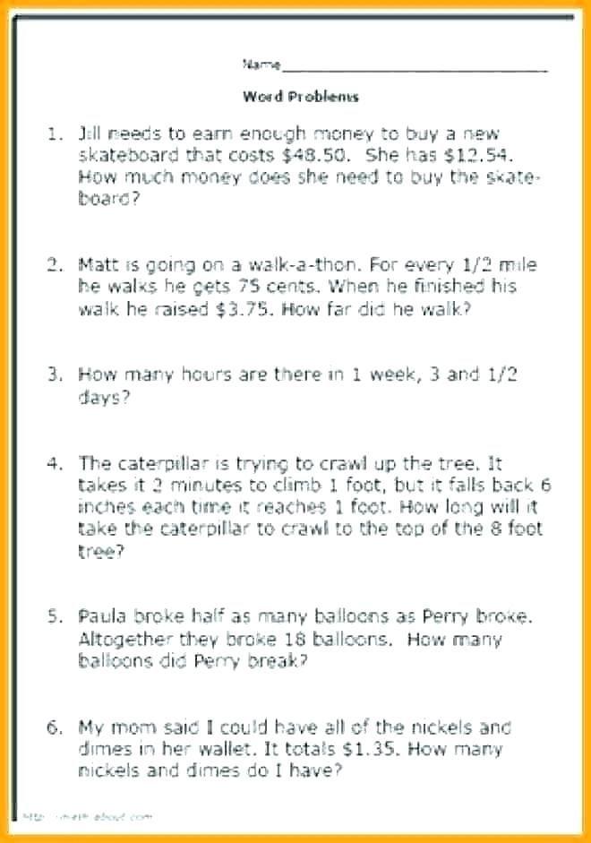 24 2nd Grade Math Word Problems Pdf Third Grade Math Word Problems Worksheets Word Problem Worksheets Math Word Problems Math Words
