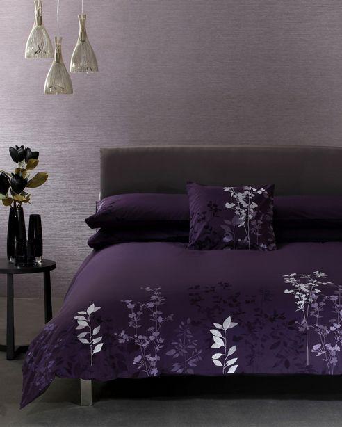 Deep Purple Black Bedding Bathandbed Com Fashion Bedding Quilts Duvet Covers